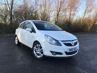 2010 VAUXHALL CORSA 1.2 SXI WHITE IDEAL FIRST CAR STUNNING MUST SEE 70,000 MILES £3495 OLDMELDRUM