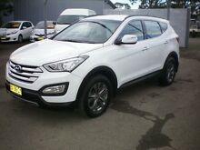2014 Hyundai Santa Fe DM Active CRDi (4x4) White 6 Speed Automatic Wagon Newcastle 2300 Newcastle Area Preview