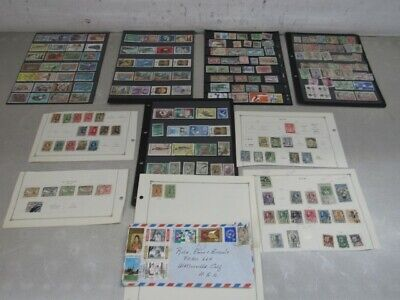 Nystamps Thailand old stamp collection stock page with better