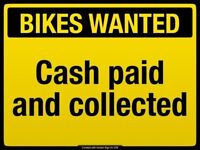 WANTED Bike, Mountain, Hybrid or Electric. Bicycle. GT, SCOTT CARRERA ,SPECIALIZED TREK ETC.