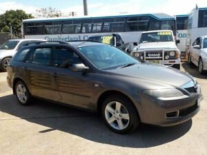 2005 Mazda 6 GY1031 MY04 Classic Grey 4 Speed Automatic Wagon North St Marys Penrith Area Preview