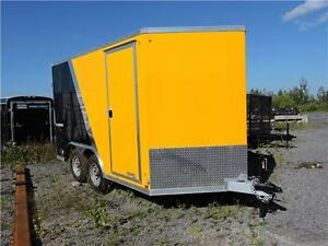 Remorque Fermée aluminium 7X12 / Enclosed Trailer West Island Greater Montréal image 1