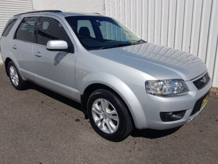 2010 Ford Territory SY Mkii TX Silver 4 Speed Sports Automatic Wagon Wodonga Wodonga Area Preview