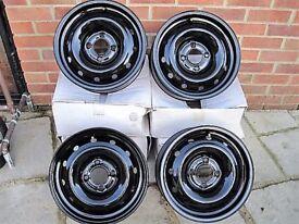 Citroen Berlingo Steels Wheels - full set NEW.