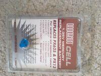 Battery for Minolta SRT - 1.35 V Zinc/air - WeinCell MRB 625 Olympus More px13 px625