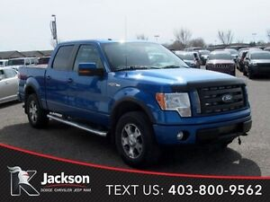 2010 Ford F-150 FX4- Heated leather, Sunroof!