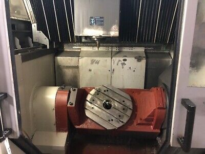 5 Axis Vmc - 2009 Hwacheon Cnc 5 Axis Vertical Machining Center Fanuc Control
