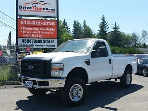 2008 Ford Super Duty F-250 XL REGULAR CAB 4X4 DIESEL