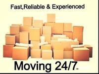MOVING 24/7 *FAST,RELIABLE & EXPERIENCED *