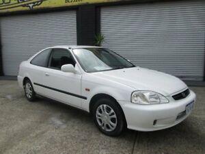 1999 Honda Civic GLi White 4 Speed Automatic Coupe