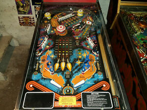 STERN METEOR PINBALL MACHINE FOR SALE London Ontario image 5