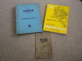 Austin Seven Manuals & Handbooks