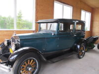 Selling by Auction a 1926 Buick 2 Tudor c/w 3 Spd