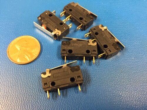 Burgess V4NC Snap-action Microswitch V4NCST7A10-AUX SPDT (Lot of 5 pcs)