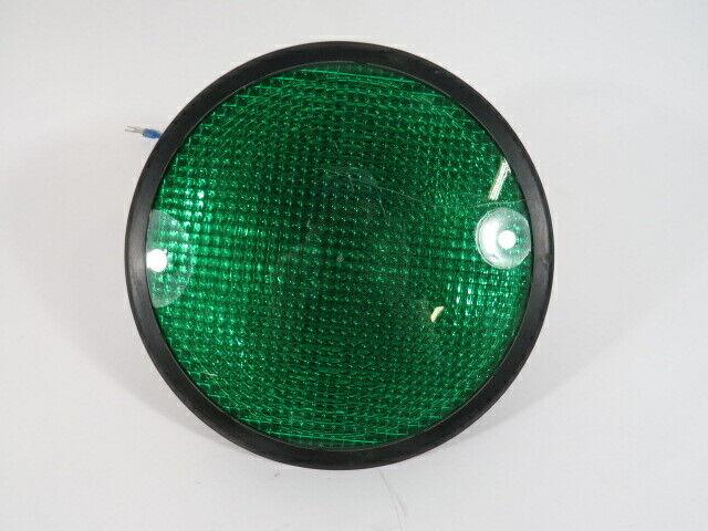 """Dialight 433-2120-001XL Green LED Traffic Light 8"""" 120VAC 7W 7.2VA 60Hz NOP"""