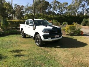 2016 Ford Ranger PX MkII XLT Double Cab White 6 Speed Sports Automatic Utility Capalaba Brisbane South East Preview