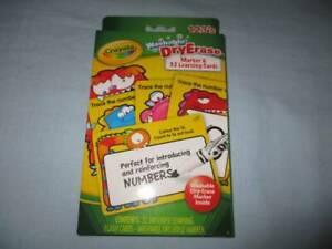 Crayola Washable Dry Erase Marker & 32 Learning Cards