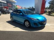 2009 Mazda 3 BK10F2 MY08 Maxx Sport Blue 4 Speed Sports Automatic Sedan Hoppers Crossing Wyndham Area Preview