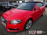 Audi A3 62196 MILES + 2.0 TDI S Line 2dr + FULL SERVICE HISTORY (red) 2008