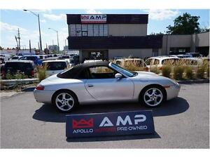 2000 Porsche 911 Carrera Convertible 3.4L 996 Model Manual!
