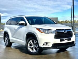 2015 Toyota Kluger GSU50R GXL 2WD White 6 Speed Sports Automatic Wagon Blacktown Blacktown Area Preview