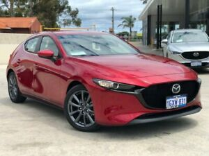 2019 Mazda 3 BP2H7A G20 SKYACTIV-Drive Evolve Red 6 Speed Sports Automatic Hatchback Palmyra Melville Area Preview