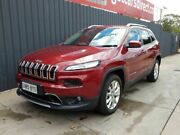 2014 Jeep Cherokee KL MY15 Limited Red 9 Speed Sports Automatic Wagon Blair Athol Port Adelaide Area Preview