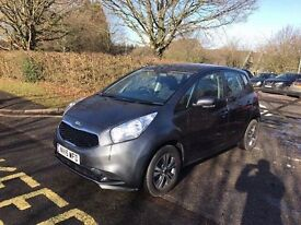 2015 KIA VENGA 2 CRDI SILVER / 1.4 DIESEL CAT D / 11,400 MILES ONLY / EXCELLENT CONDITION