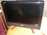 ACER Ferrari 20in Monitor - Spares or Repair