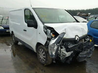 Damaged New Shape Renault Trafic 64Reg Cat D