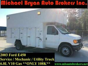 2003 FORD E450 SERVICE TRUCK / UTILITY TRUCK *ONLY 108K* RARE