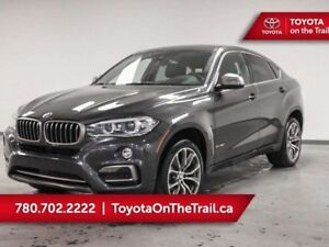 2017 BMW X6 PREMIUM PKG AWD LEATHER SUNROOF NAV