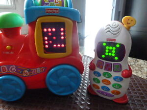 2 Fisher Price Laugh and Learn toys