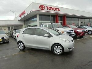 2008 Toyota Yaris NCP91R YRS Quicksilver 4 Speed Automatic Hatchback Belmore Canterbury Area Preview