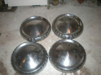 4 Hub Caps And Other Parts For 1963 Falcon