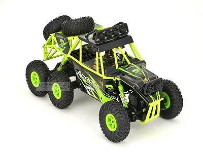 RC Rock Crawler 1:18 Monster Truck 6WD Von WL-Toys -2,4Ghz,Allrad,Gummibereifung
