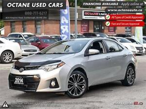 2014 Toyota Corolla S ONE OWNER! Excellent Condition!
