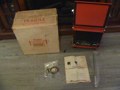 Rare Ar Automatic Radio Fender Mount Taf-7600 Am-fm Tractortruck Radio Vintage