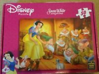 Disney Snow White and the seven dwarfs jigsaw puzzle