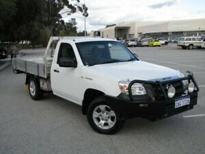 2010 Mazda BT-50 UNY0W4 DX 4x2 White 5 Speed Manual Cab Chassis Maddington Gosnells Area Preview