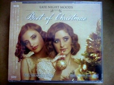 LATE NIGHT MOODS: BEST OF CHRISTMAS (HDCD, 24-bit, 3CD, 2012 S2S)