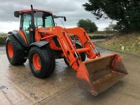 2011 KUBOTA M8540 4X4 Tractor, front loader, air con, ex council