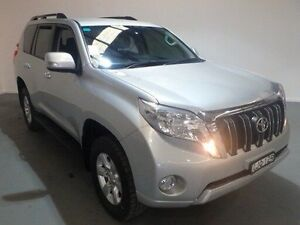 2013 Toyota Landcruiser Prado KDJ150R 11 Upgrade GXL (4x4) Silver Pearl 5 Speed Sequential Auto Kooringal Wagga Wagga City Preview