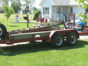 Heavy Duty Tandem Axle Trailers