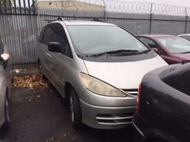 TOYOTA PREVIA CDX D4D 2001 BREAKING FOR SPARES