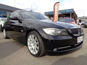 2008 BMW 335i E90 MY09 Black 6 Speed Steptronic Sedan Pooraka Salisbury Area Preview