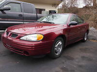 2002 Pontiac Grand Am SE Berline