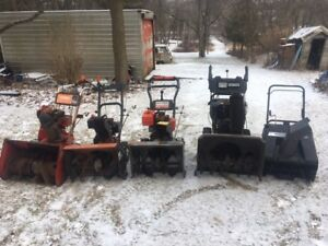 Used Snowblowers for Sale -variety of sizes and prices