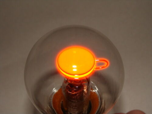 Neon light bulb 1960-1980 year USSR 110 - 220V with built-in resistor, nixie