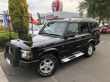 2003 Land Rover Discovery 03MY Td5 Black 5 Speed Manual Wagon Seaford Frankston Area Preview